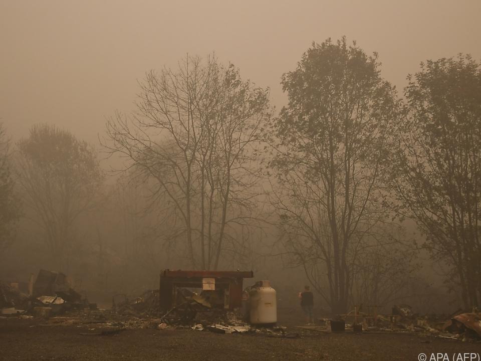 Seit Wochen wüten Brände an US-Westküste
