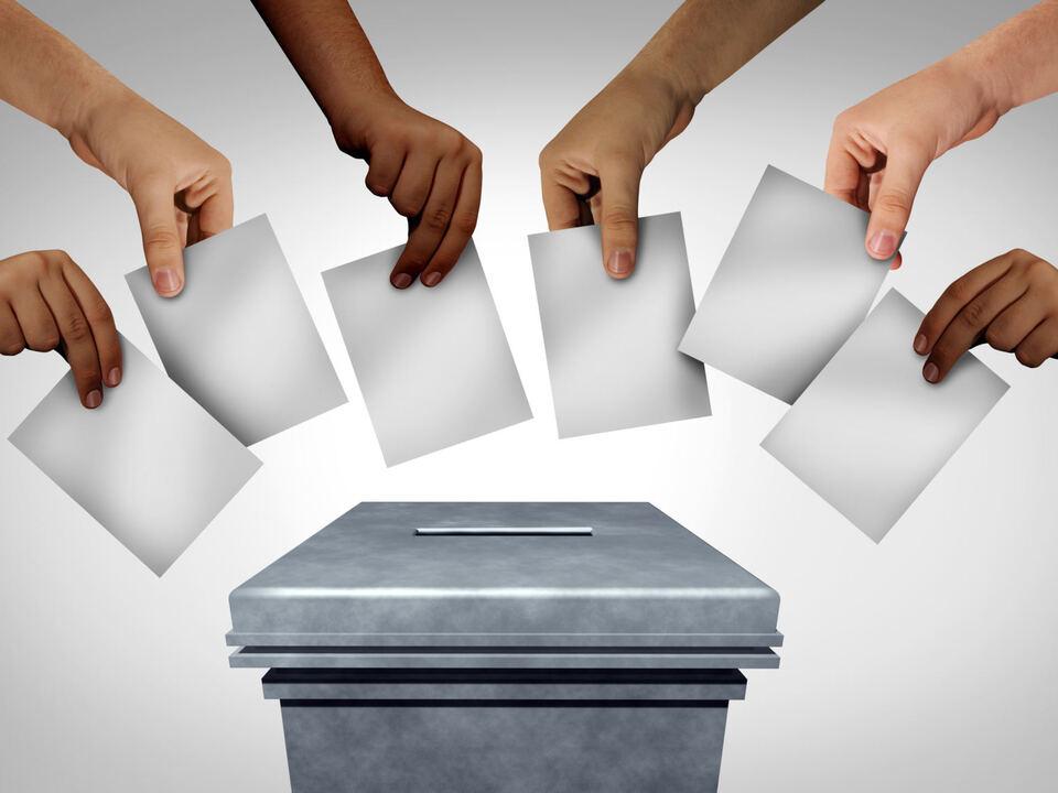 Wahl leer sym Wahlurne