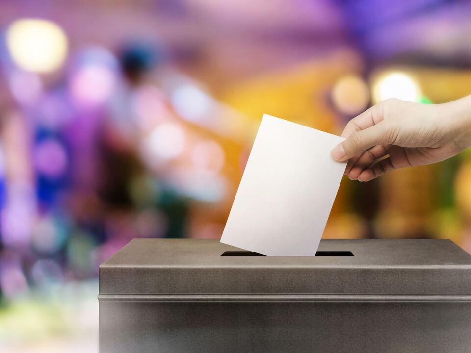 Wahlurne Wahl leer sym shutterstock