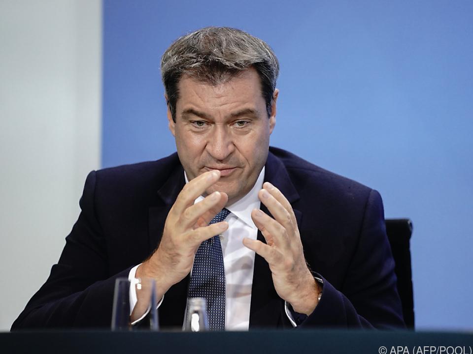 Söder will mit Kurz über bilaterale Corona-Fragen beraten