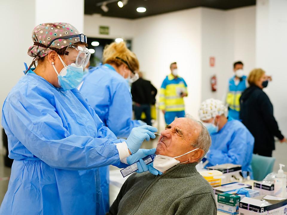 Spanien kämpft mit explodierenden Infektionszahlen