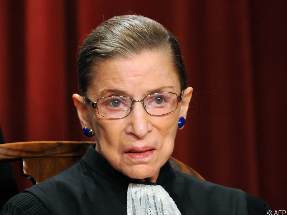 Supreme-Court-Richterin Bader Ginsburg starb im Alter von 87 Jahren