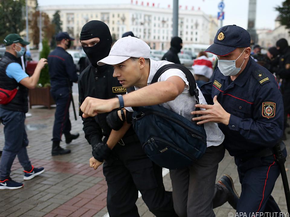 Täglich neue Proteste in Weißrussland