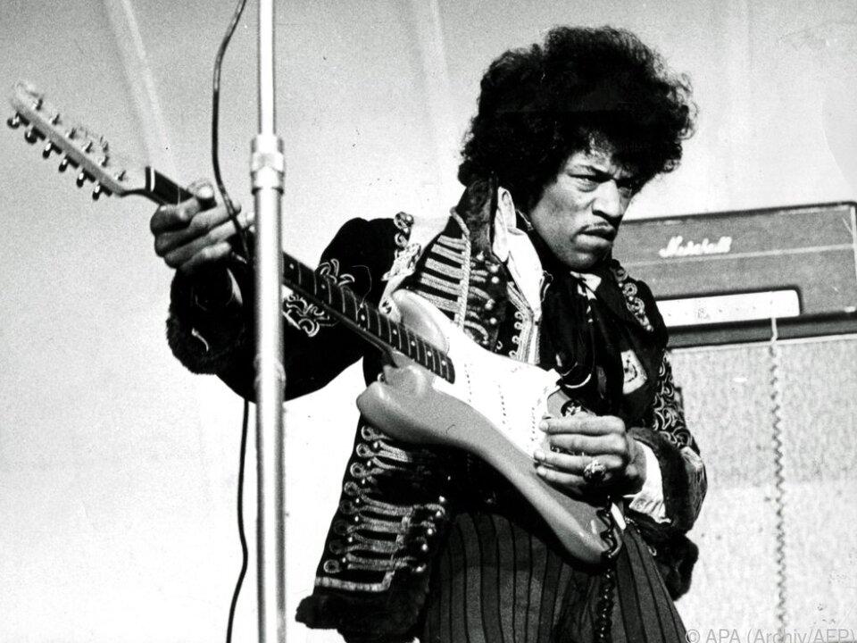 Todestag von Jimi Hendrix jährt sich zum 50. Mal
