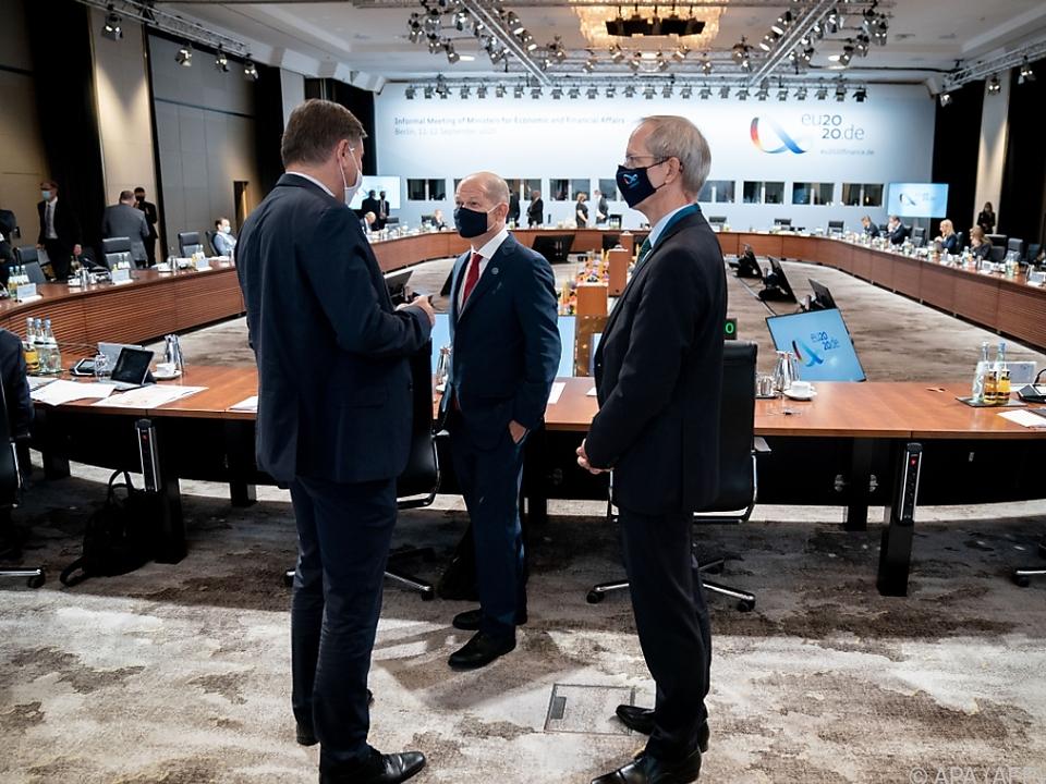 Treffen der EU-Finanzminister
