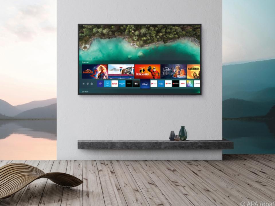 Ungetrübtes Fernsehen unter freiem Himmel verspricht Samsung