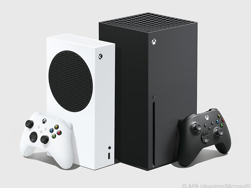Die zwei neuen Xbox-Modelle im Vergleich: Die Series S (links) ist günstiger