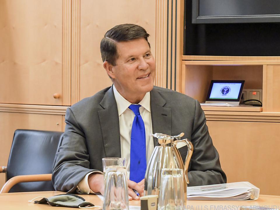US-Außenstaatssekretär Keith Krach beim APA-Interview