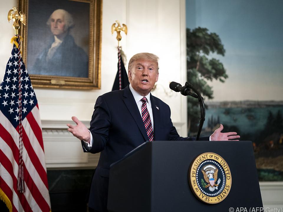US-Präsident Donald Trump hätte Assad lieber ausgeschaltet