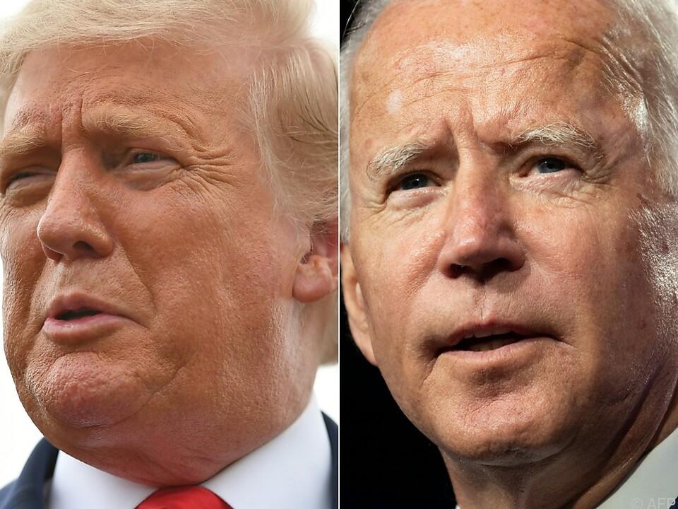 TV-Debatte Trump-Biden lief aus dem Ruder