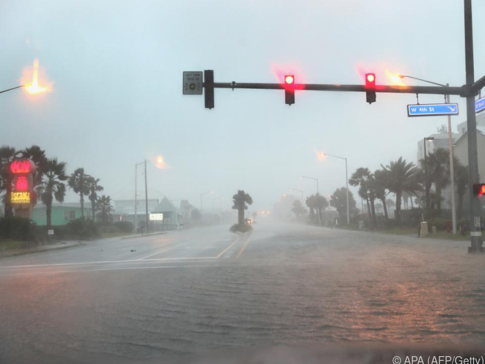 US-Staaten Alabama, Mississippi und Florida besonders in Gefahr