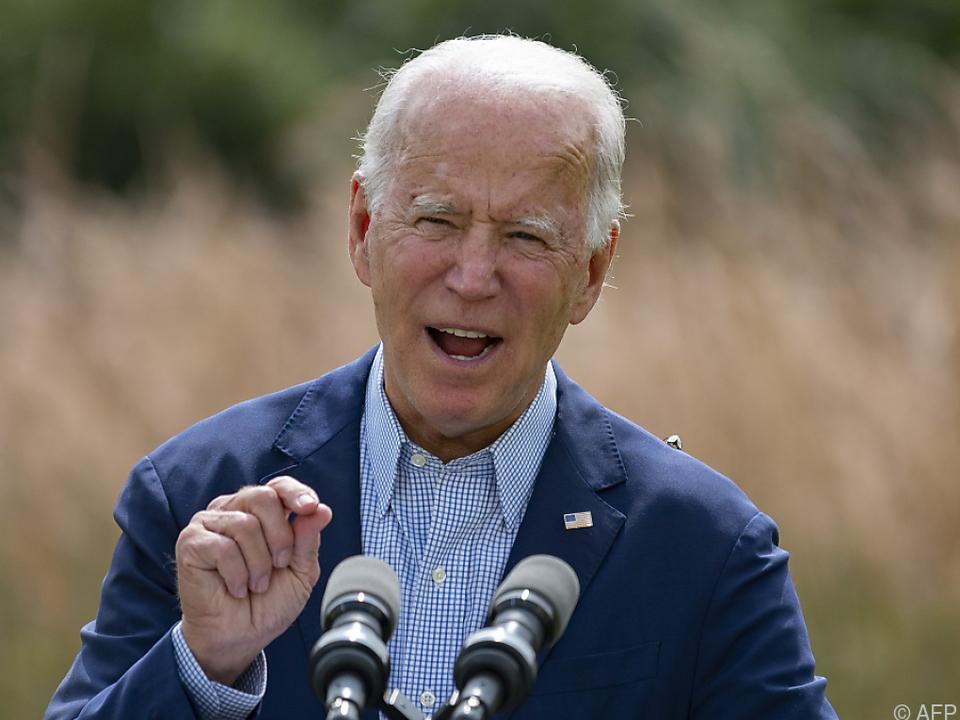 US-Wahlen 2020 - Demokrat Joe Biden