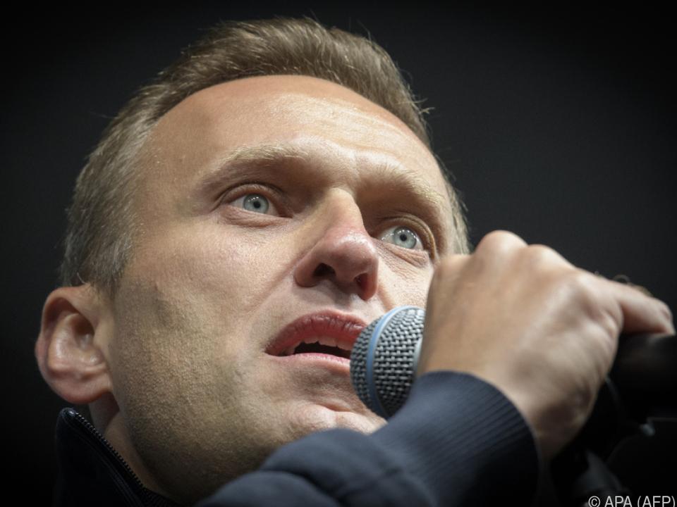 Vergiftung Nawalnys überschattet Regionalwahlen