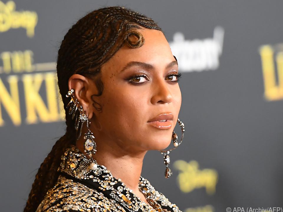 Vergleich mit US-Sängerin Beyonce