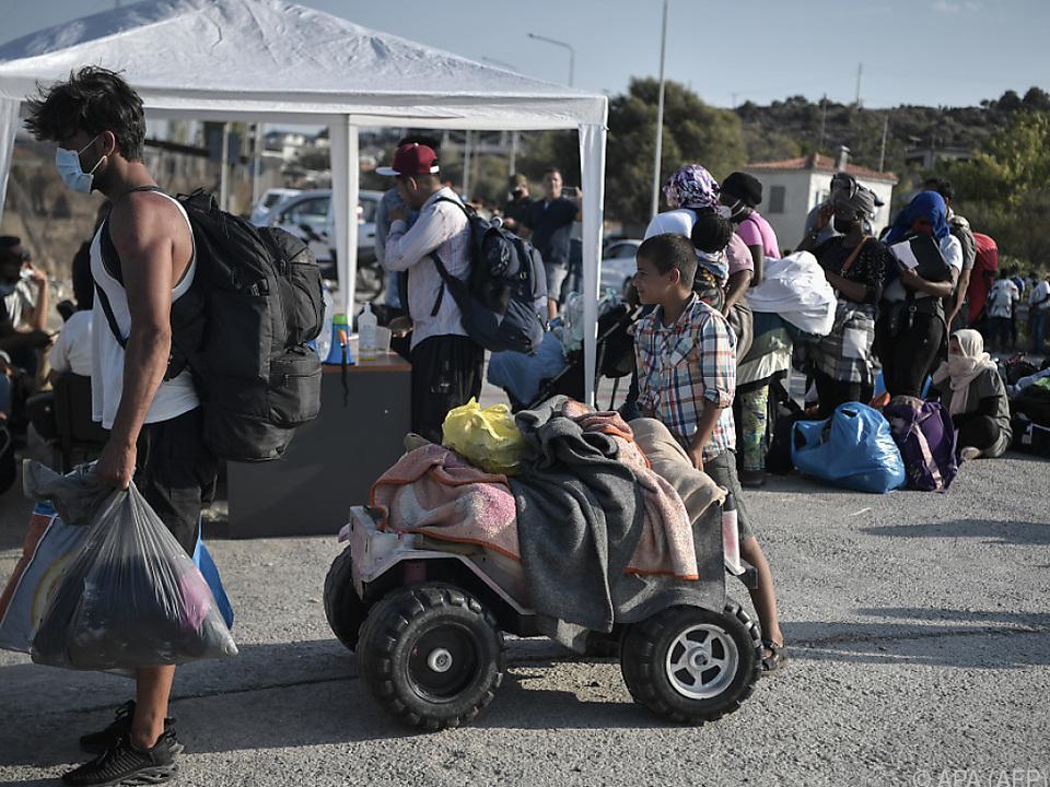 Viele Migranten wollen weiter nach Deutschland