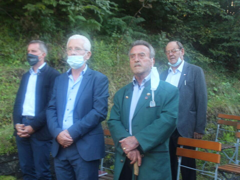 Vizebürgermeister+Luis+Wachler+,+Volkskundler+Karl+Saxer+und+Gastredner+Werner+Schmid