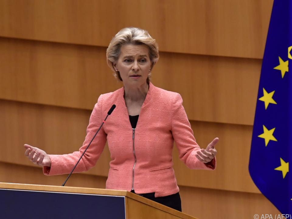 Von der Leyen hielt ihre erste Rede zur Lage der EU
