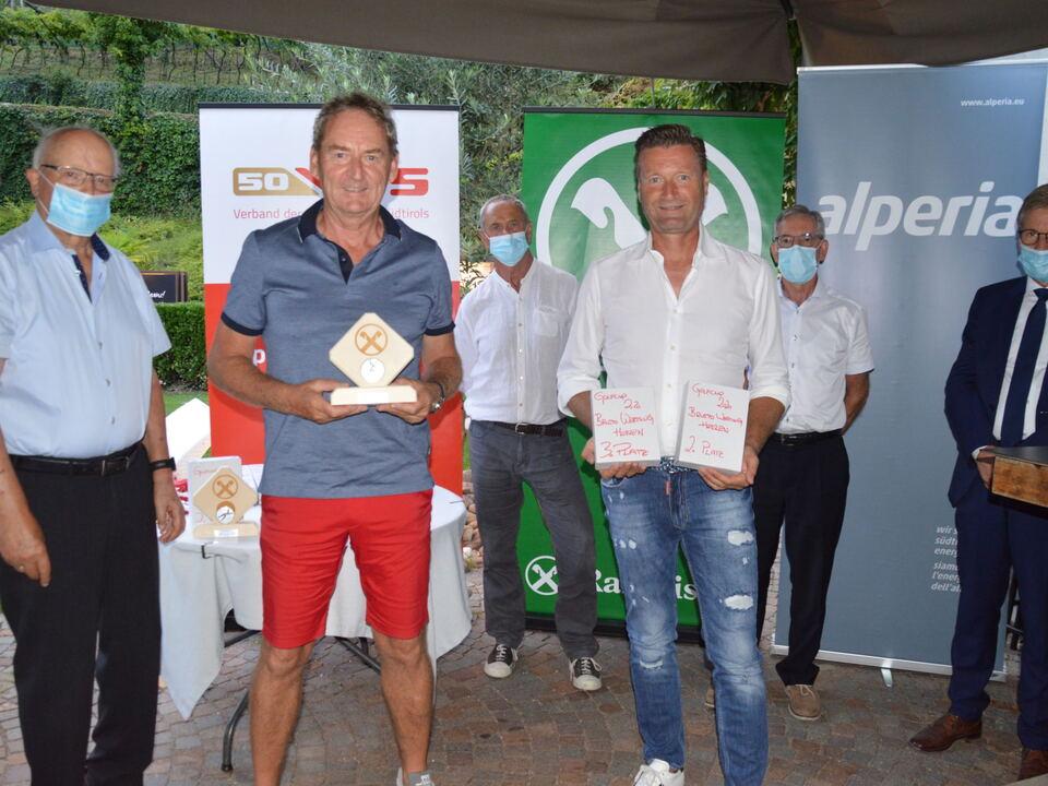 VSS-Raiffeisen Senioren-Golfcup Sieger Brutto Herren