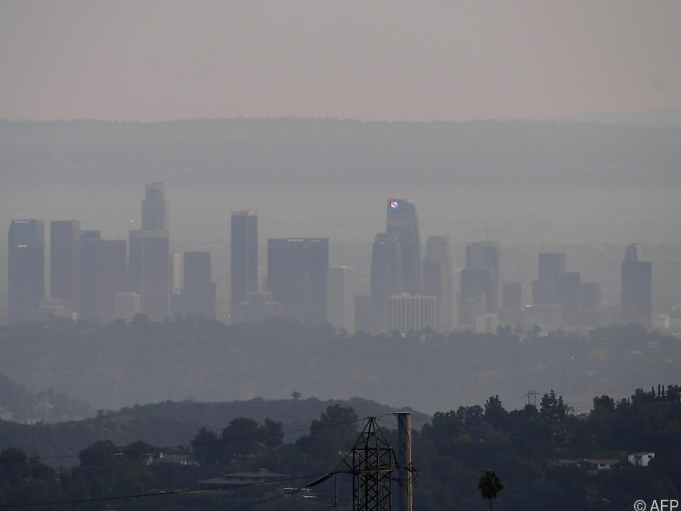 Waldbrände in Kalifornien - Städte im Rauch
