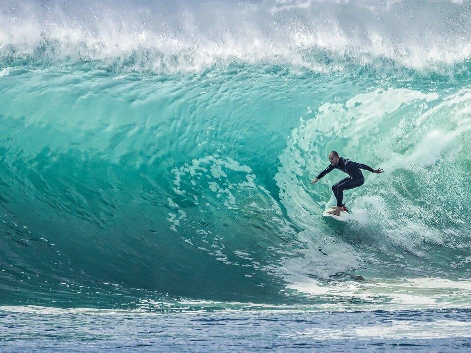 Surfen Surfer