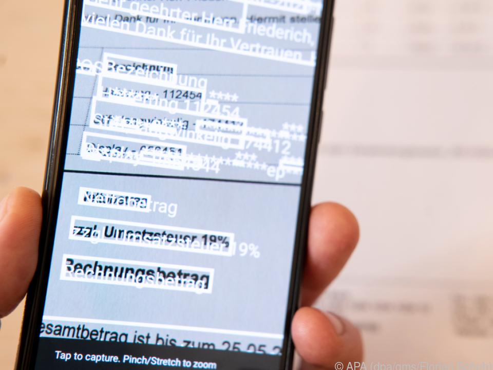 Automatische Texterkennung (OCR) spart lästige Abtipperei