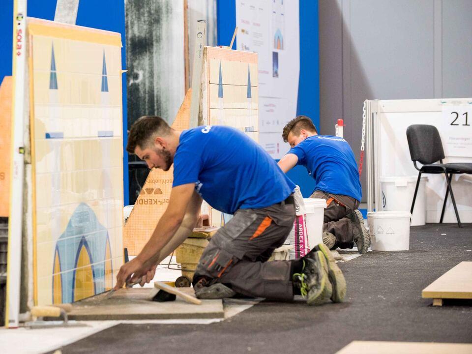 WorldSkills Italy 2018_Fliesen-Platten- und Mosaikleger_