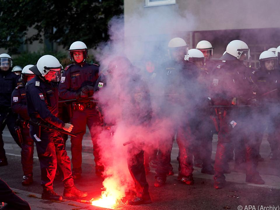 Zunahme an Gewalt gegen Polizisten
