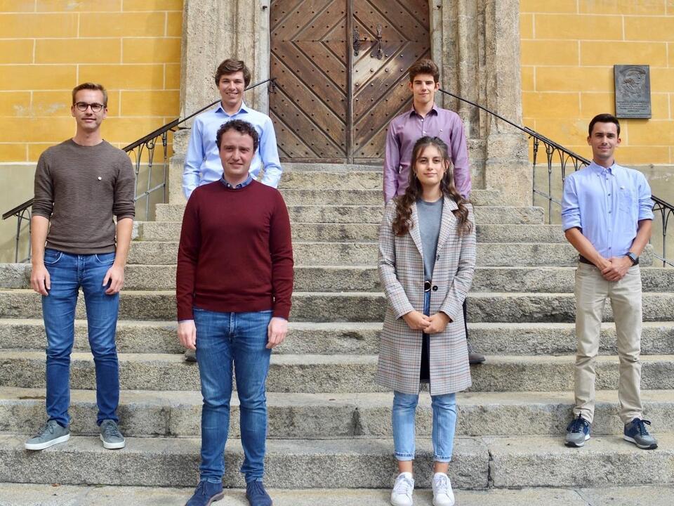 Vorstand Kiwanis Junior Club Bruneck