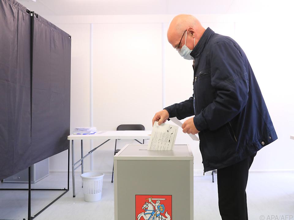 2,5 Millionen Litauer sind zur Wahl aufgerufen