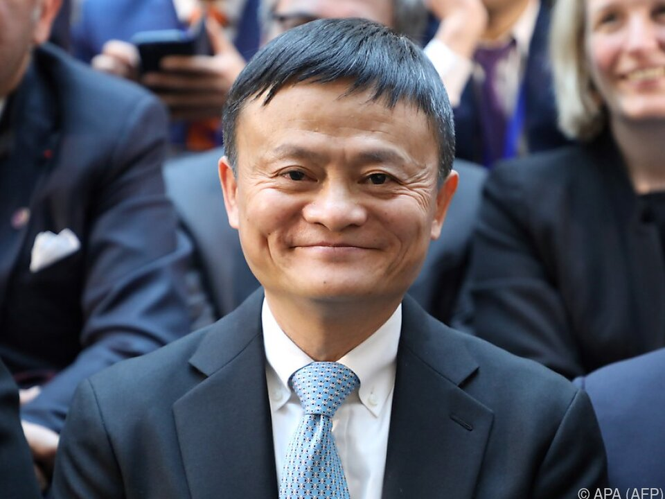 Alibaba-Gründer Jack Ma hat Milliarden Gründe zur Freude