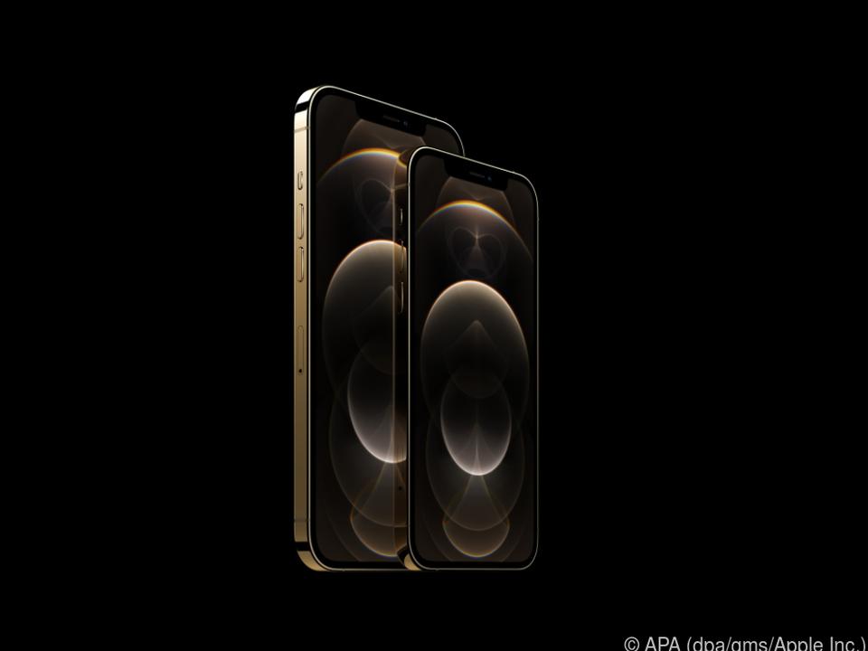 Beim iPhone 12 Pro können Kunden auch die größere Version Pro Max wählen