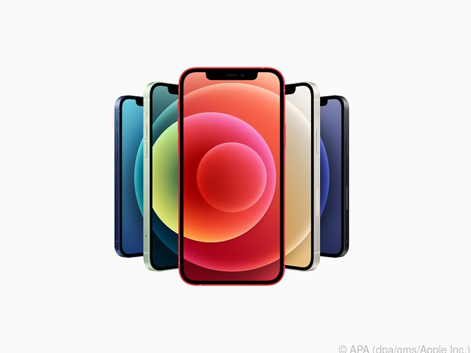 Alle vier neuen iPhone-Modelle unterstützen 5G und haben den schnellen A14-Chip