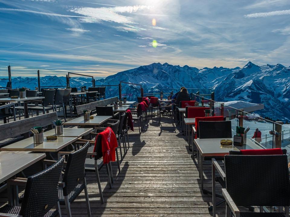 Alpen Wintertourismus Gastgewerbe Winter Schnee