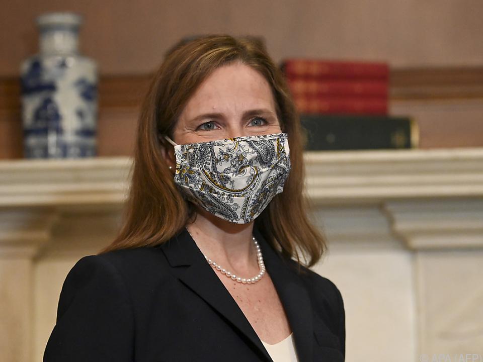 Amy Coney Barrett muss noch vom gesamten Senat bestätigt werden