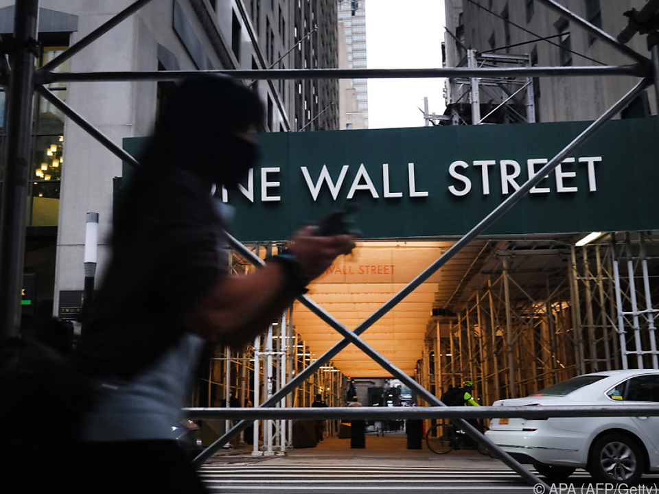 An der Wall Street ist die Unruhe groß