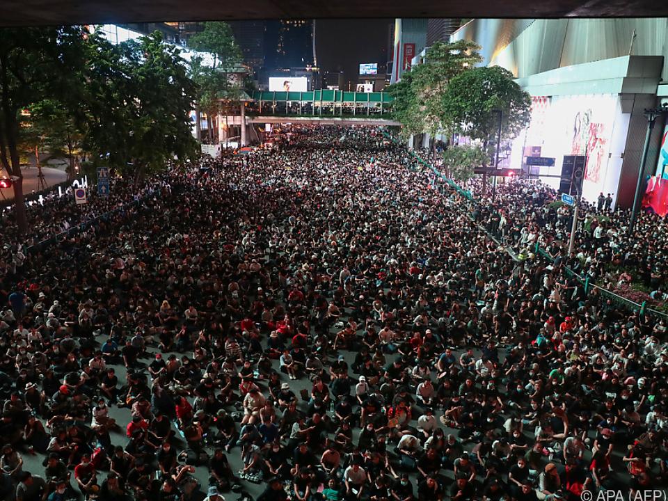 Anhaltende Proteste in Thailand