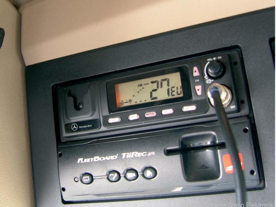 Auch heute wollen viele Lkw-Fahrer nicht auf CB-Funk verzichtens