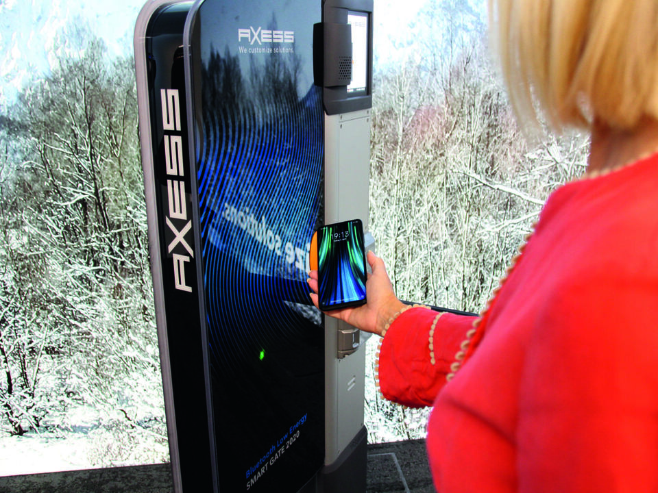 AX500 Smart Gate NG BLE_Handy