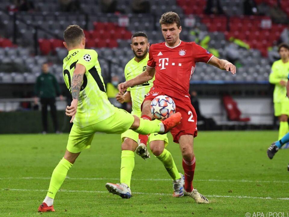 Bayern München überrollte Atletico Madrid in der CL mit 4:0