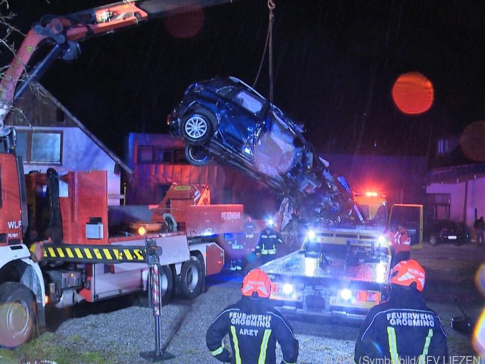 Bei diesem Unfall starb ein 80-Jähriger in der Steiermark