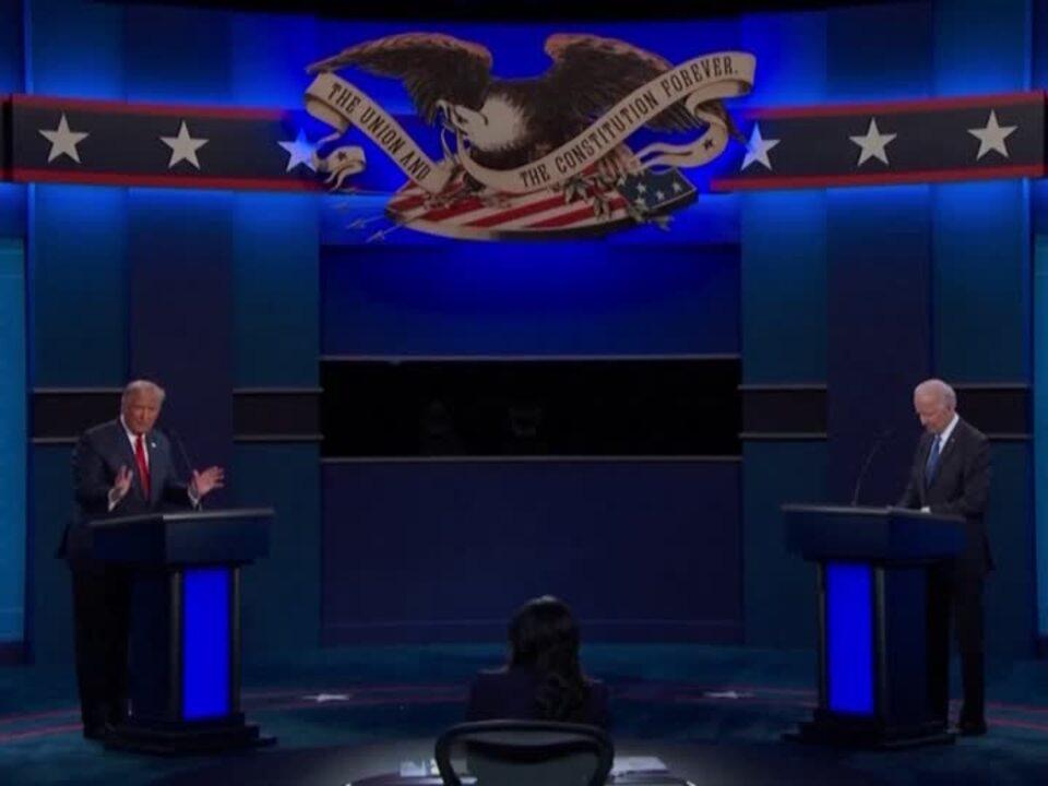 Tv Duell Biden Trump