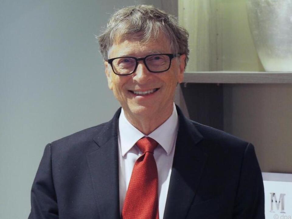 Bill Gates gibt Teile seines Vermögens für gute Zwecke aus