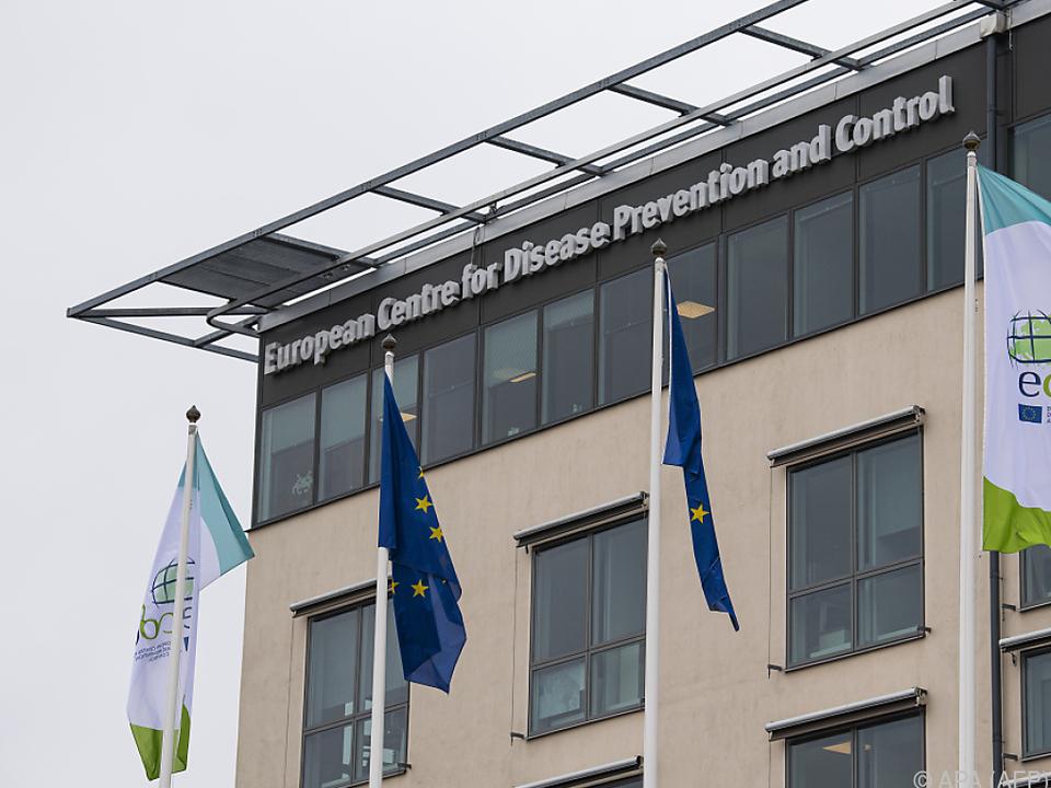 Blick auf das ECDC-Center in Stockholm
