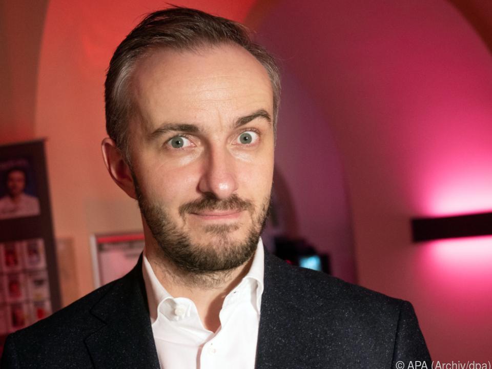 Böhmermann mit seiner Sendung künftig im ZDF