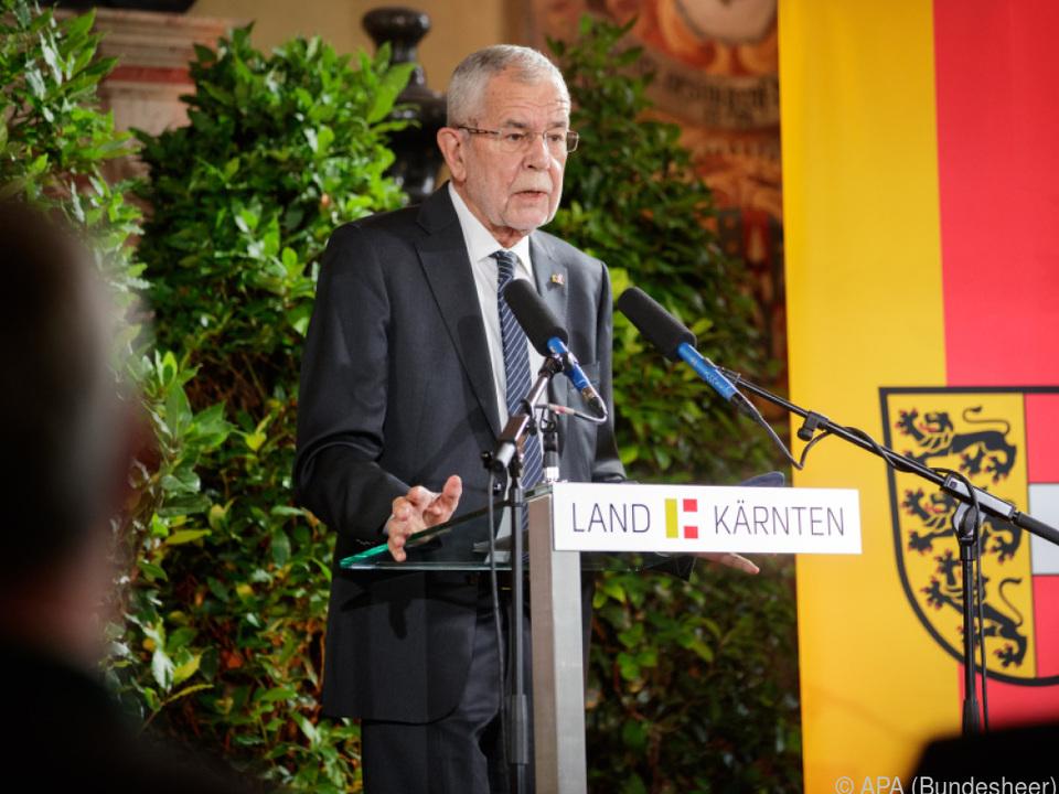 Bundespräsident Van der Bellen setzte wichtiges Zeichen