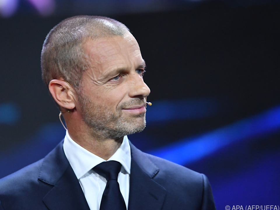 Ceferin und die UEFA halten sich alle Optionen offen