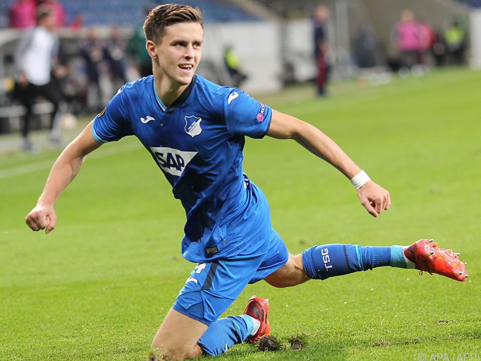 Christoph Baumgartner traf erneut für Hoffenheim