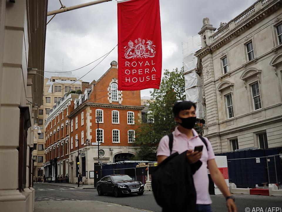 Das Royal Opera House konnte seit März keine Einnahmen generieren