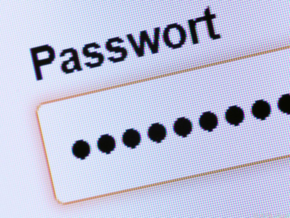 Das Sperr-Passwort muss man kennen