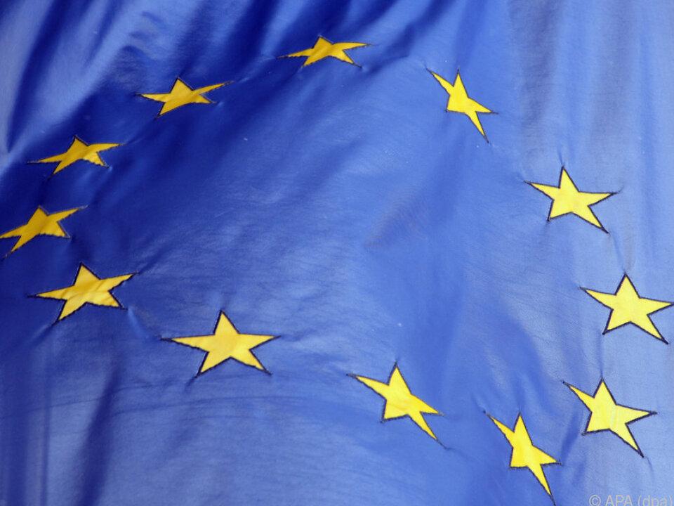 Das Vertrauen in die EU ist nicht so stark ausgeprägt